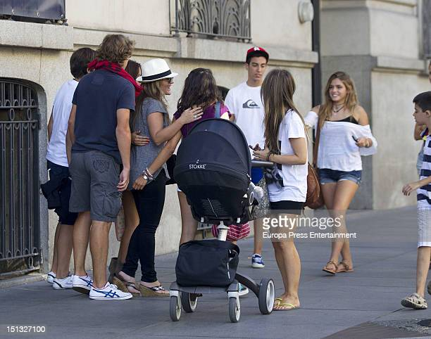 Amaia Montero is seen on September 5 2012 in Madrid Spain