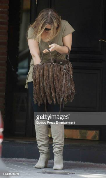 Amaia Montero is seen sighting on May 31 2011 in Madrid Spain