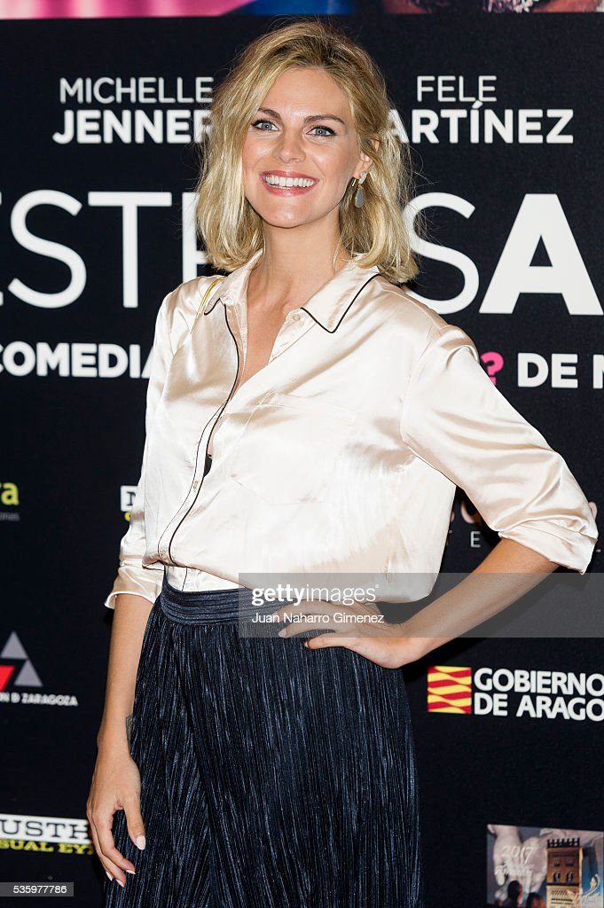 <a gi-track='captionPersonalityLinkClicked' href=/galleries/search?phrase=Amaia+Salamanca&family=editorial&specificpeople=5084489 ng-click='$event.stopPropagation()'>Amaia Salamanca</a> attends 'Nuestros Amantes' photocall at Palafox Cinema on May 31, 2016 in Madrid, Spain.