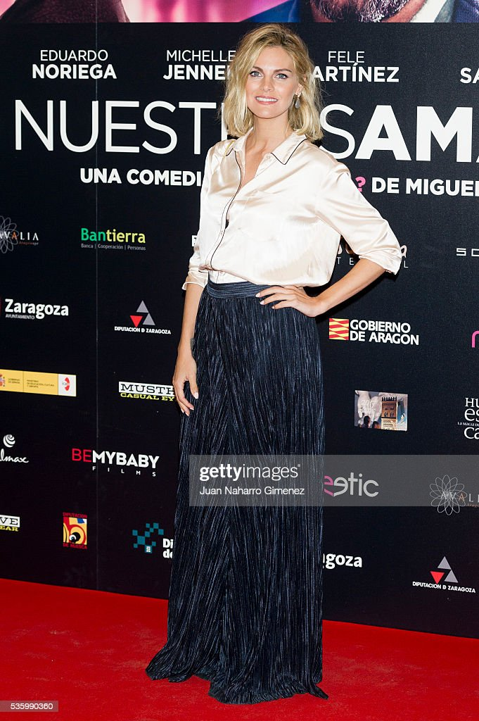 Amaia Salamanca attends 'Nuestros Amantes' photocall at Palafox Cinema on May 31, 2016 in Madrid, Spain.