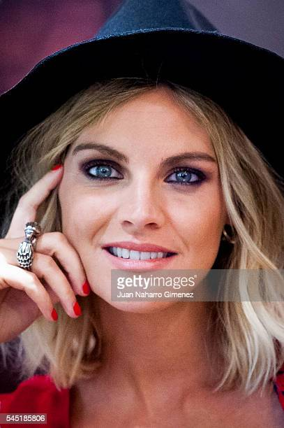 Amaia Salamanca attends the Amichi new image presentation at Mood on July 6 2016 in Madrid Spain