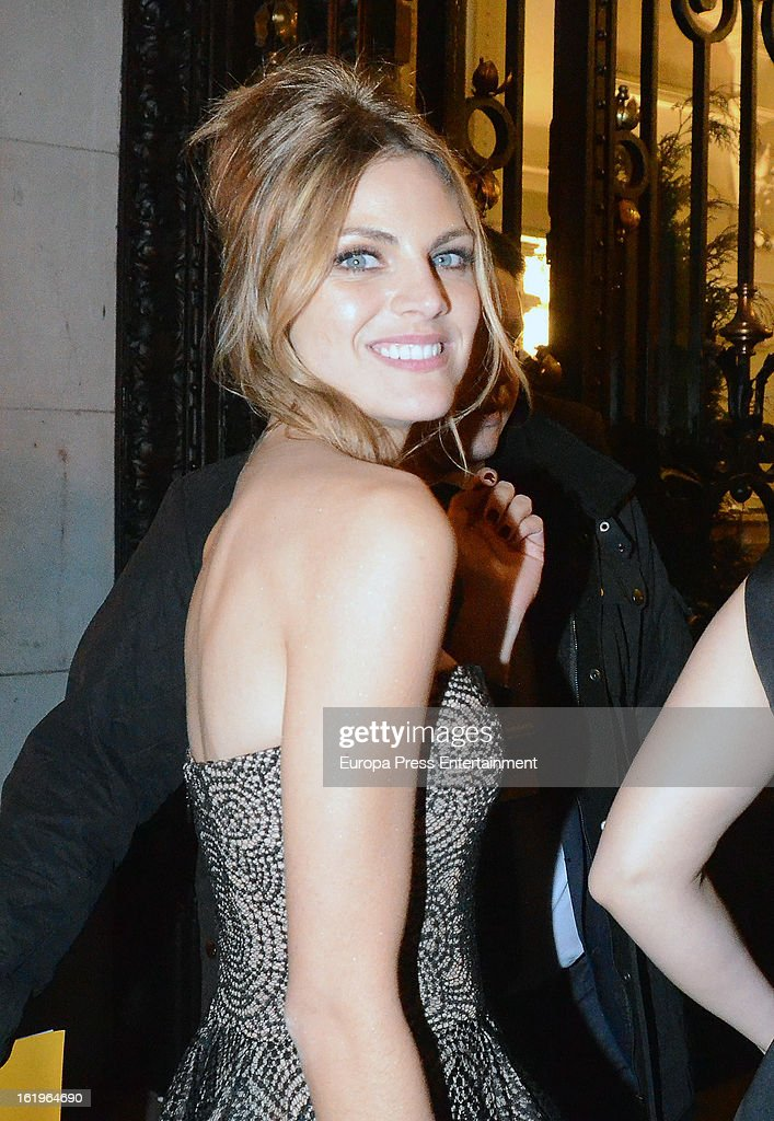 Amaia Salamanca attends the official 'Goya Cinema Awards After Party' 2013 at Casino de Madrid on February 17, 2013 in Madrid, Spain.