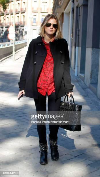 Amaia Salamanca is seen on November 12 2013 in Madrid Spain