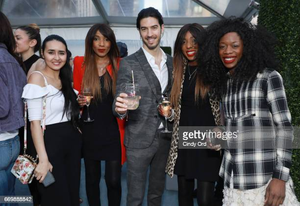 Amal Amamou Chantelle DwomohPiper Andrea Marzull Danielle DwomohPiper and LonelyAmanda attend as Lord Taylor and Bobbi Brown celebrate the launch of...
