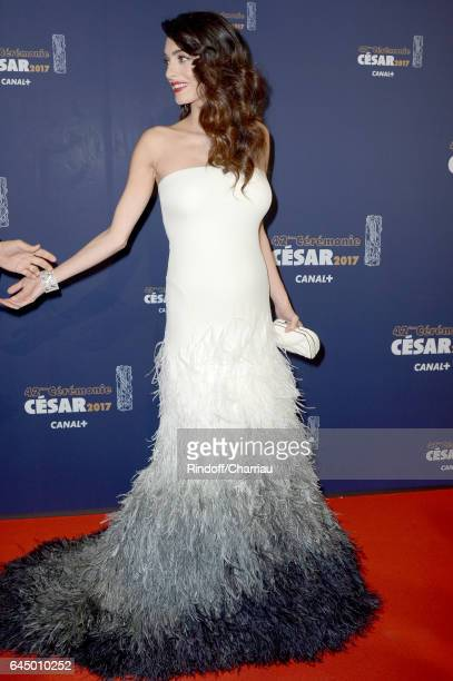 Amal Clooney arrives at the Cesar Film Awards Ceremony at Salle Pleyel on February 24 2017 in Paris France