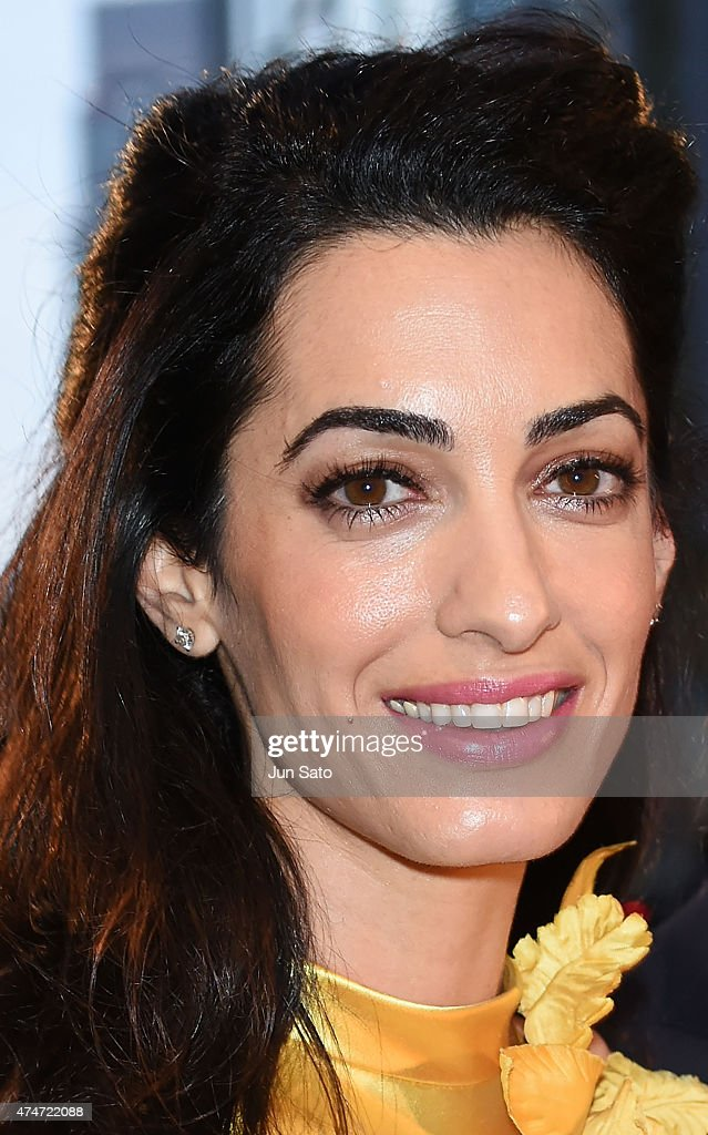 Amal Clooney attends the Tokyo premiere of 'Tomorrowland ...