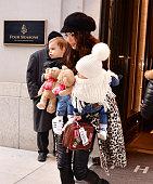 Celebrity Sightings in New York City - December 6, 2018