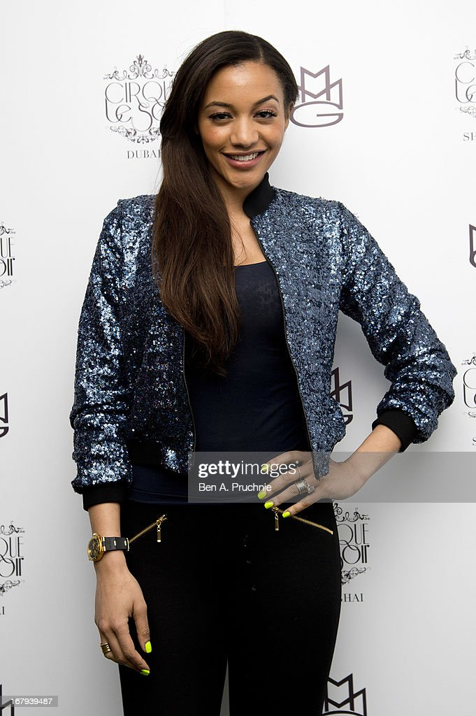 Amal Fashanu attends as the nightclub celebrates its third birthday at One Marylebone on May 2, 2013 in London, England.