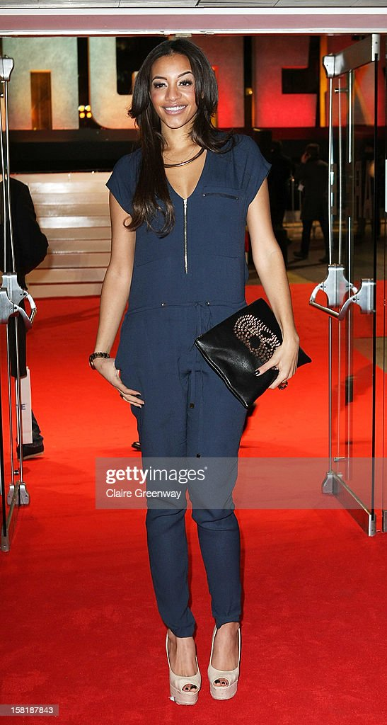 Amal Fashanu attends the world premiere of 'Jack Reacher' at The Odeon Leicester Square on December 10, 2012 in London, England.