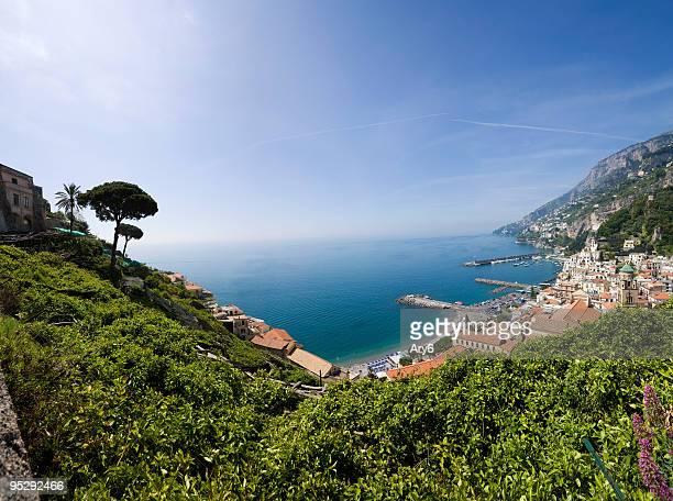 Amalfi (Italien) Panoramablick