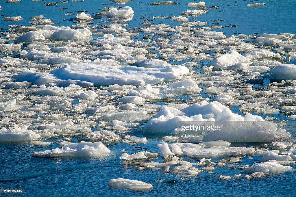 Amalia Glacier - Global Warming - Ice Formations : Stock Photo