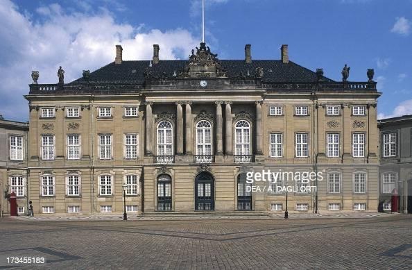 Amalienborg Palace Danish royal residence Copenhagen Denmark