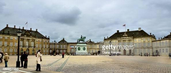 Amalienborg Slot royal residence Copenhagen