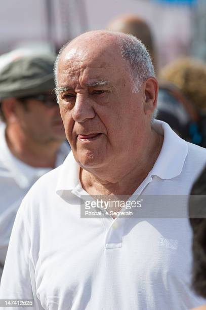 Amancio Ortega attends the Monaco International Jumping as part of Global Champion Tour on June 29 2012 in MonteCarlo Monaco