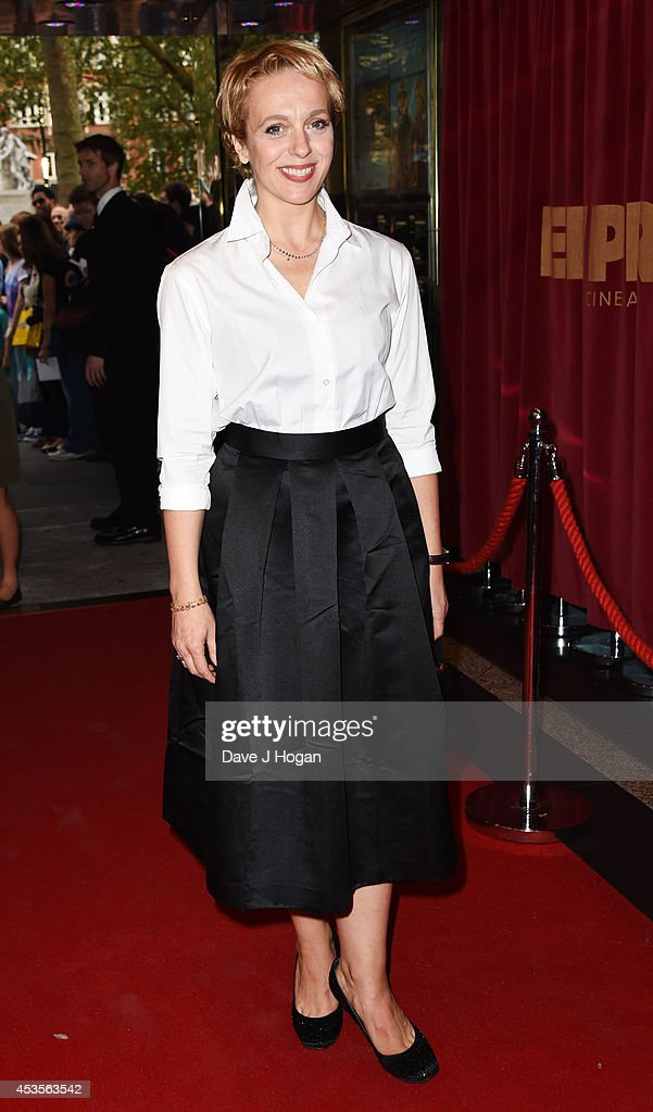Amanda Adams attends the UK premiere of 'Hector And The Search For Happiness' at The Empire Leicester Square on August 13, 2014 in London, England.