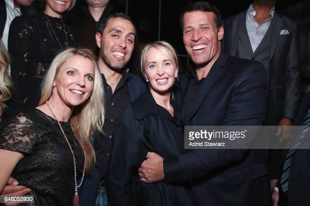 Jairek robbins and tony robbins