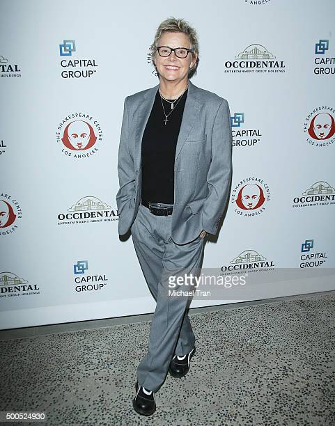 Amanda Bearse attends the 25th Annual Simply Shakespeare Benefit held at The Broad Stage on December 8 2015 in Santa Monica California