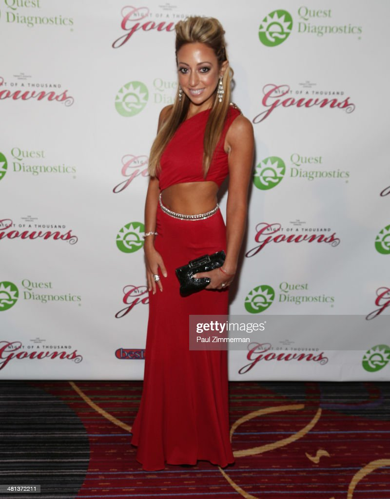 Amanda Bertoncini attends the 28th annual Night of a Thousand Gowns at the Marriott Marquis Times Square on March 29, 2014 in New York City.