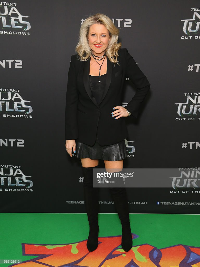 Amanda Bishop attends the Australian Premiere of Teenage Mutant Ninja Turtles 2 at Event Cinemas George Street on May 29, 2016 in Sydney, Australia.