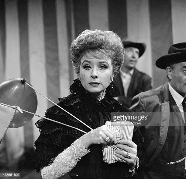 Amanda Blake as Kitty Russell in the GUNSMOKE episode 'Circus Trick' Image dated June 8 1964