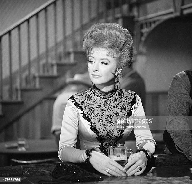 Amanda Blake as Kitty Russell on the GUNSMOKE episode 'Chicken' Image dated May 12 1964