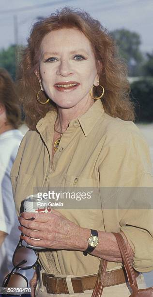 Amanda Blake attends 11th ALPO Actors and Others for Animals Benefit Party on August 30 1987 at the Burbank Ranch in Burbank California