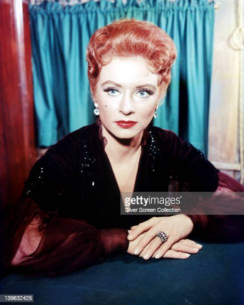 Amanda Blake US actress in a publicity portrait issued fo the US television series 'Gunsmoke' USA circa 1960 The Western series starred Blake as...