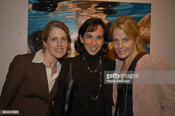 Amanda Blankman Allison Fisch and Beth Rothenberg attend Planned Parenthood Art 20 Preview Gala at Park Ave Armory on November 9 2006 in New York City