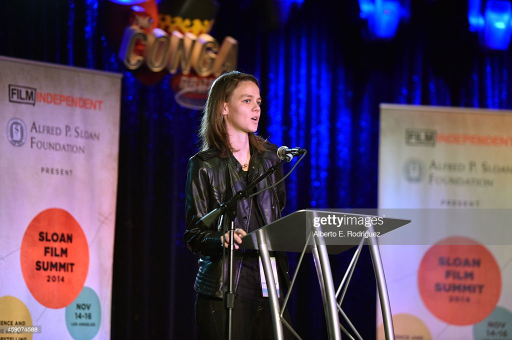 Amanda Brennan Attends The Film Independent Sloan Summit At The Conga Room  At LA Live On