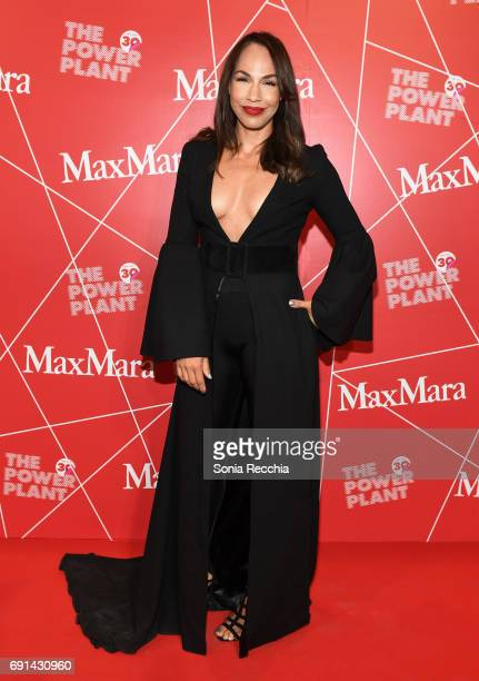Amanda Brugel attends Power Ball XIX Stereo Vision Presented By Max Mara at The Power Plant on June 1 2017 in Toronto Canada