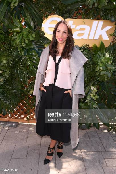 Amanda Brugel attends the Canadian Brunch Reception Honoring Canadian Nominees For The 89th Academy Awards And The 32nd Film Independent Spirit...