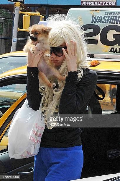 Amanda Bynes as seen on July 10 2013 in New York City