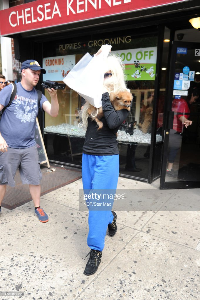 Amanda Bynes as seen on July 10, 2013 in New York City.