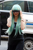 Amanda Bynes attends an appearance at Manhattan Criminal Court on July 9 2013 in New York City Bynes is facing charges of reckless endangerment...