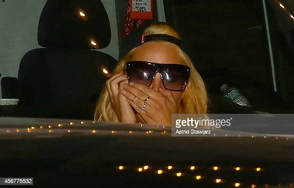 Amanda Bynes attends NYLON Magazine's IT Girl Party at Gilded Lily on October 6 2014 in New York City
