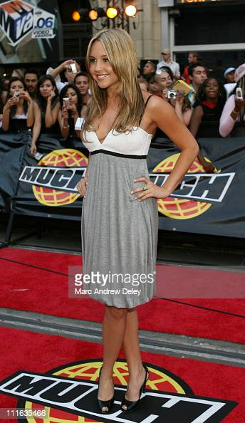 Amanda Bynes during 17th Annual MuchMusic Video Awards Red Carpet at Chum City Building in Toronto Ontario Canada