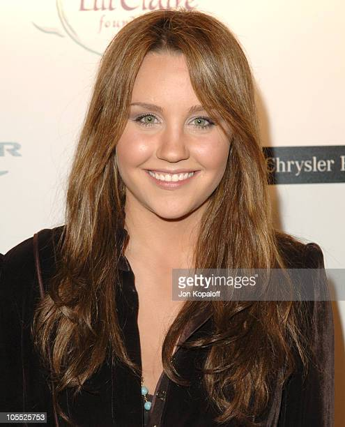 Amanda Bynes during 8th Annual Lili Claire Foundation Benefit at Beverly Hilton Hotel in Beverly Hills California United States