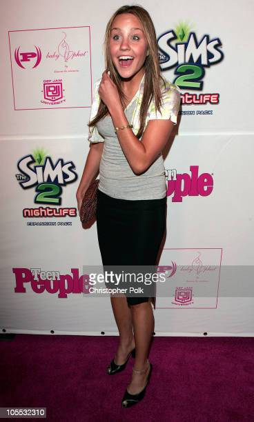 Amanda Bynes during Teen People Celebrates Its Second Annual Young Hollywood Issue Arrivals at Cabana Club in Los Angeles California United States