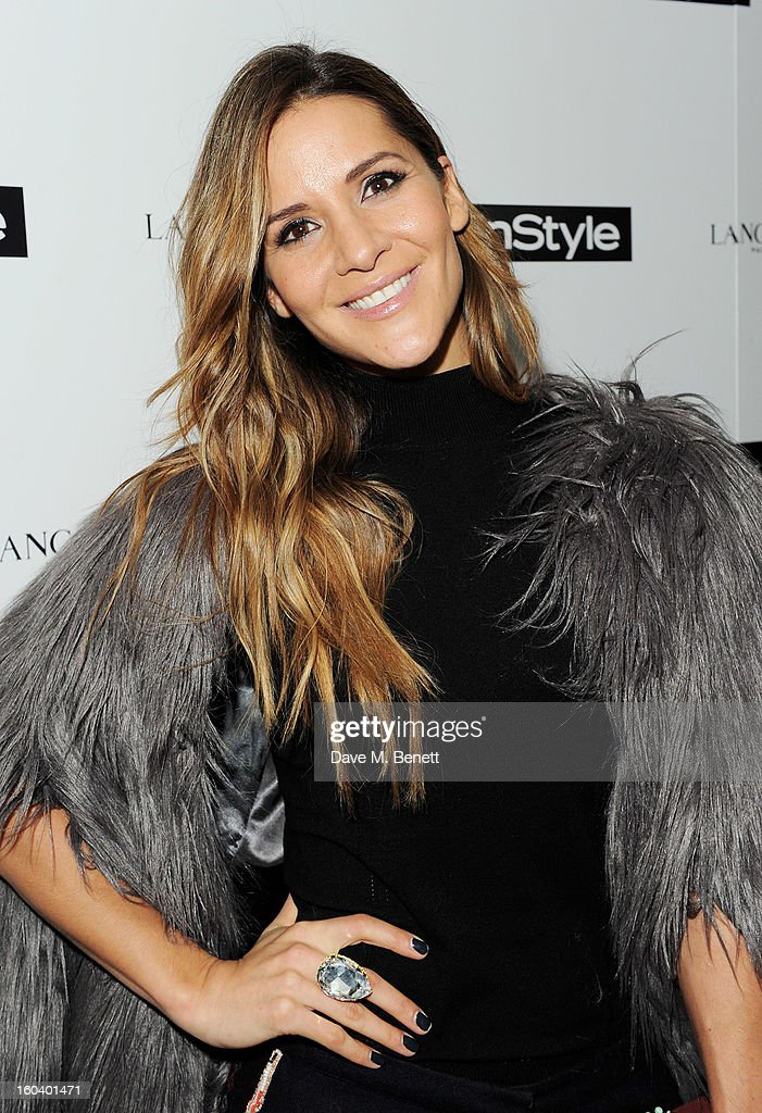 Amanda Byram arrives at the InStyle Best Of British Talent party in association with Lancome and Avenue 32 at Shoreditch House on January 30, 2013 in London, England.