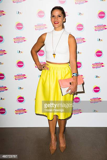 Amanda Byram attends Lorraine's High Street Fashion Awards on May 21 2014 in London England