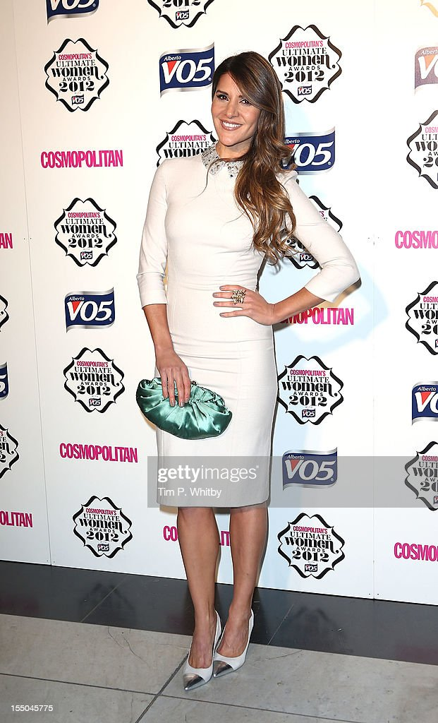 Amanda Byram attends the Cosmopolitan Ultimate Woman of the Year awards at Victoria & Albert Museum on October 30, 2012 in London, England.