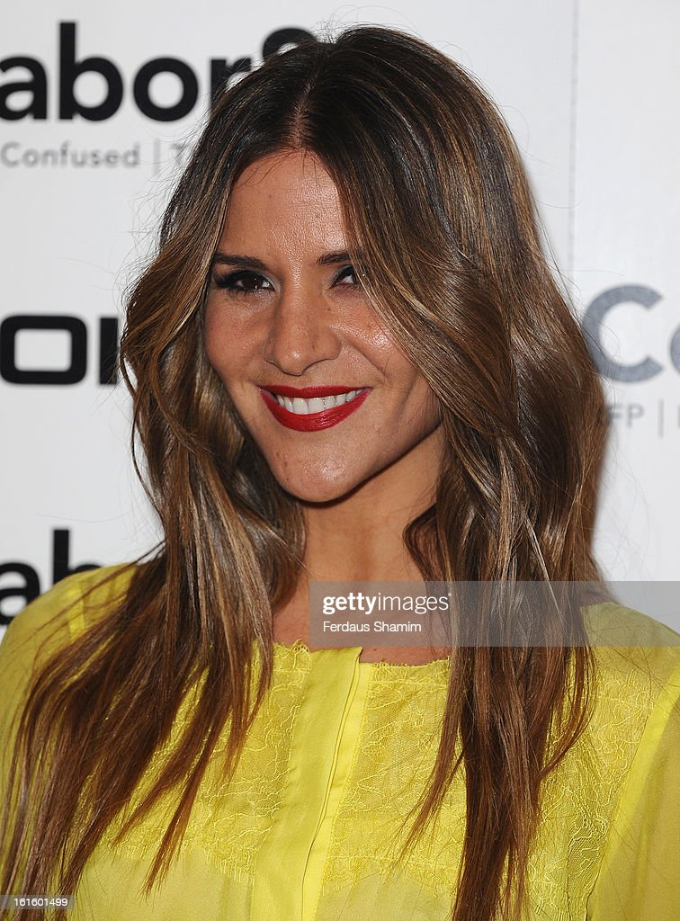 <a gi-track='captionPersonalityLinkClicked' href=/galleries/search?phrase=Amanda+Byram&family=editorial&specificpeople=661578 ng-click='$event.stopPropagation()'>Amanda Byram</a> attends the premiere of Rankin's Collabor8te connected by NOKIA at Regent Street Cinema on February 12, 2013 in London, England.