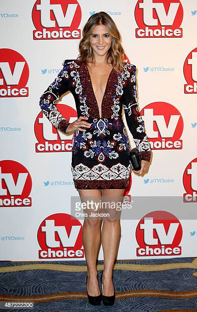 Amanda Byram attends the TV Choice Awards 2015 at Hilton Park Lane on September 7 2015 in London England