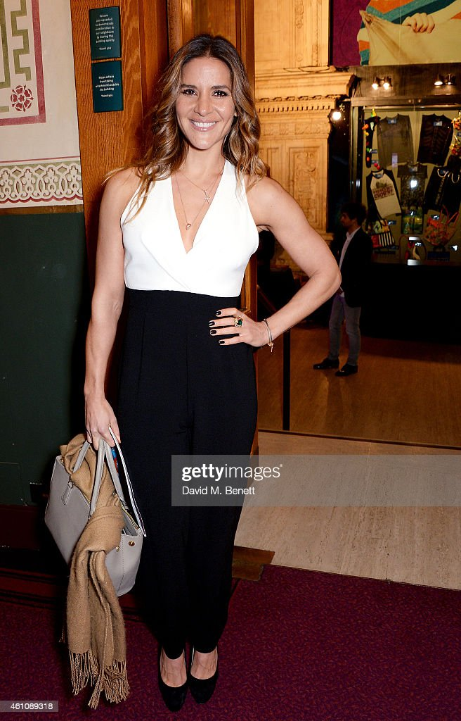Amanda Byram attends the VIP performance of 'Kooza' by Cirque Du Soleil at Royal Albert Hall on January 6, 2015 in London, England.
