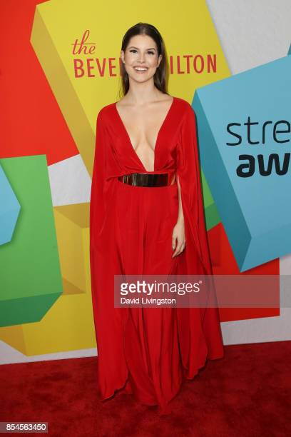 Amanda Cerny attends the 7th Annual 2017 Streamy Awards at The Beverly Hilton Hotel on September 26 2017 in Beverly Hills California