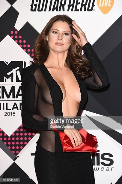 Amanda Cerny attends the MTV EMA's 2015 at Mediolanum Forum on October 25 2015 in Milan Italy