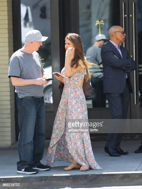Amanda Cerny is seen on April 05 2017 in Los Angeles California
