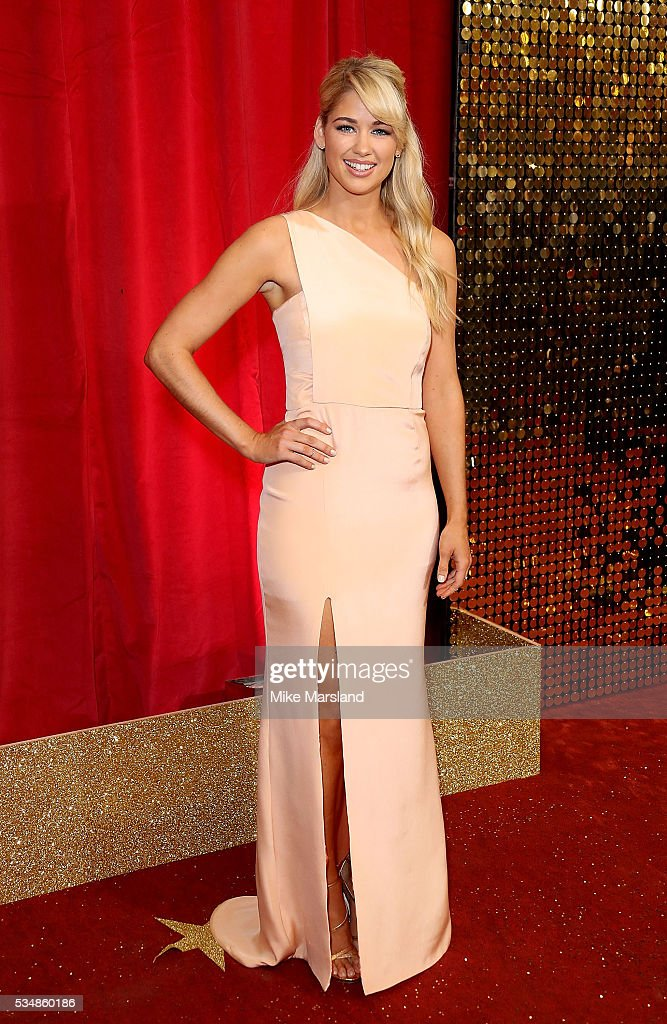 Amanda Clapham attends the British Soap Awards 2016 at Hackney Empire on May 28, 2016 in London, England.