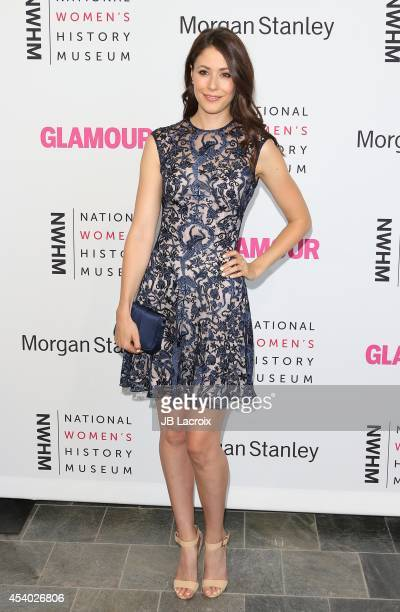 Amanda Crew attends the 3rd Annual Women Making History Brunch presented by the National Women's History Museum and Glamour Magazine at the Skirball...