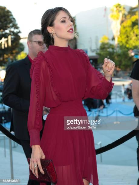 Amanda Crew is seen on July 12 2017 in Los Angeles California